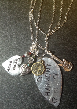 Tell us your story. Do you have a story to tell, a memory, a quote that means something to you or a dedication to someone you love? Beads4Bubba will create this story for you with charms, hand stamped messages and beads. Sentimentally Yours...